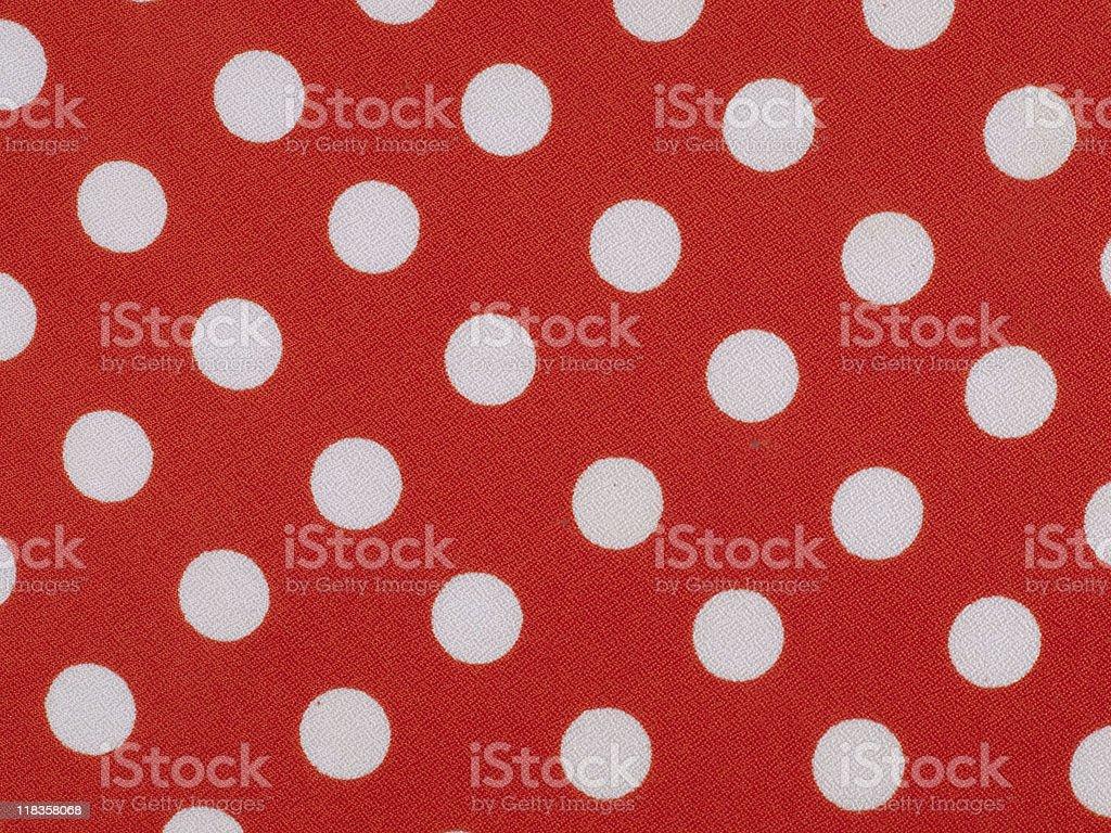 Red acetate fabric stock photo
