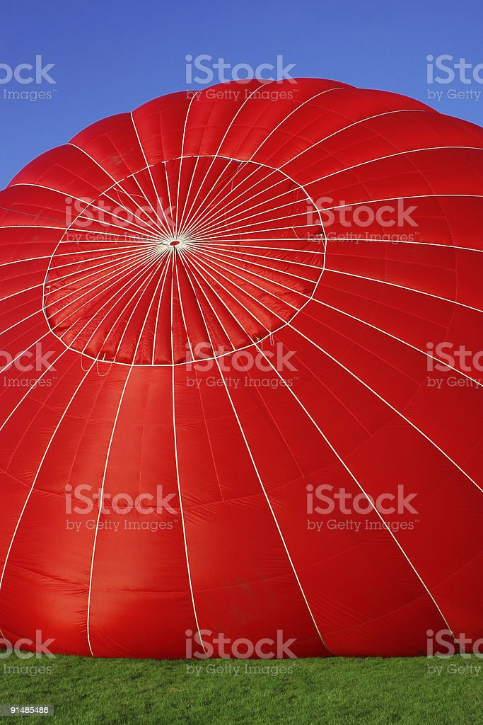 red air balloon royalty-free stock photo