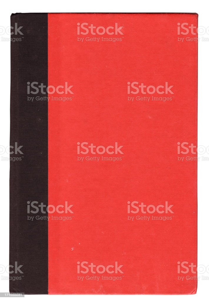 red and black book cover royalty-free stock photo