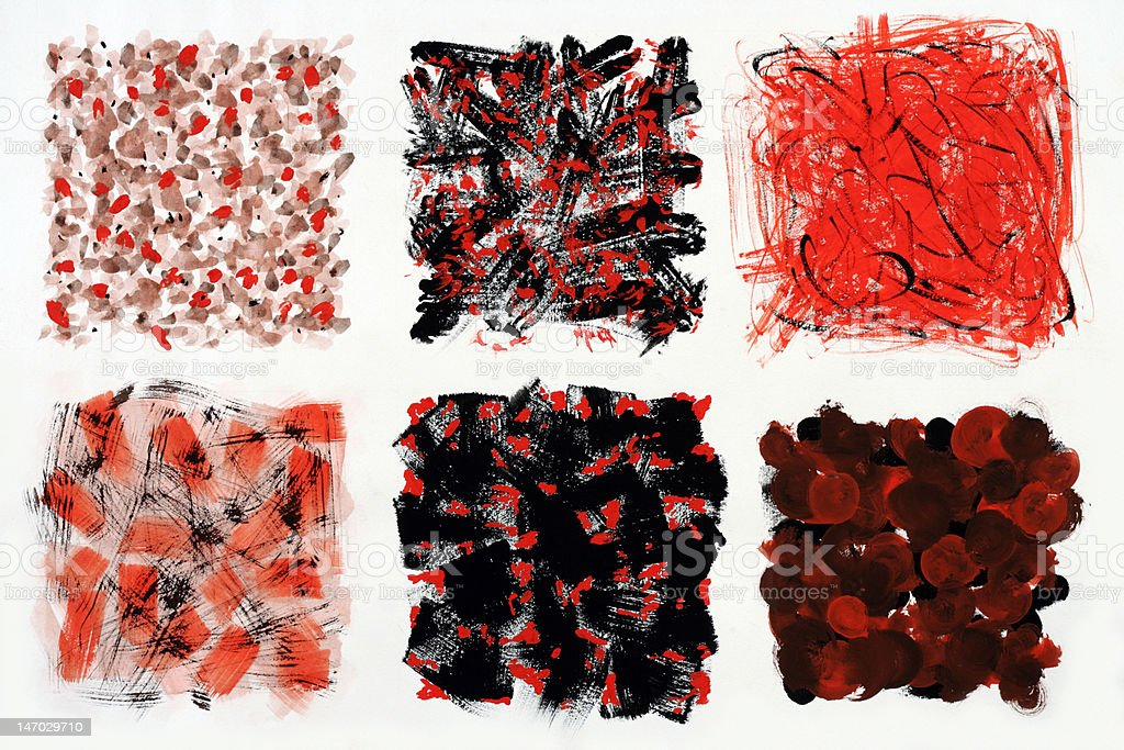 red and black colored squares royalty-free stock photo