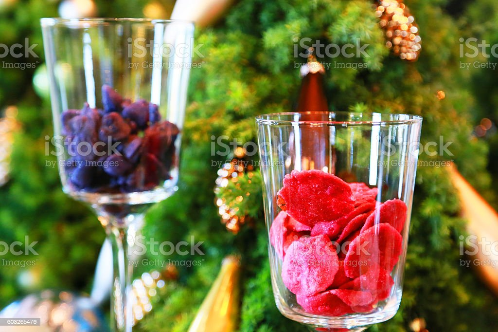 Red and blue glass foto de stock libre de derechos