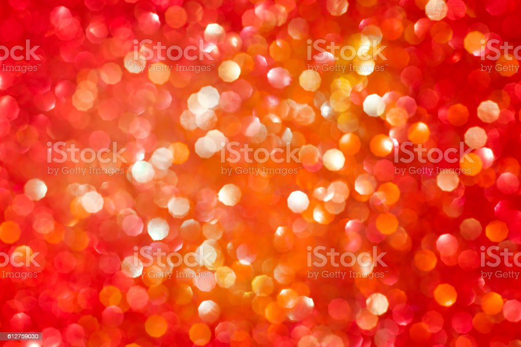 Red and golden abstract defocused background stock photo