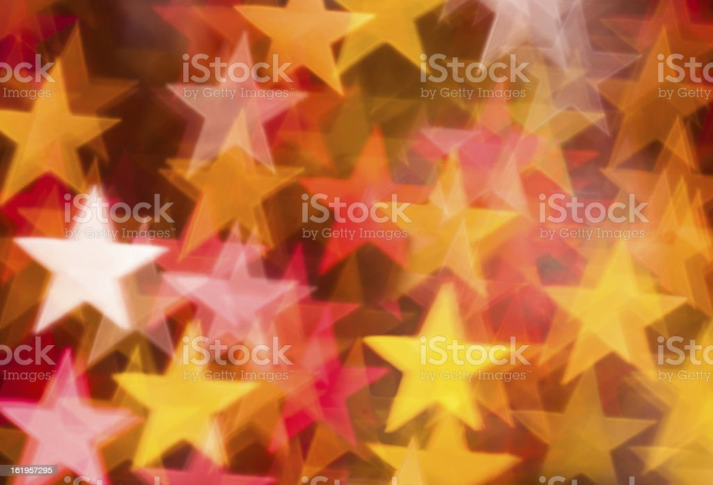 red and golden stars background royalty-free stock photo
