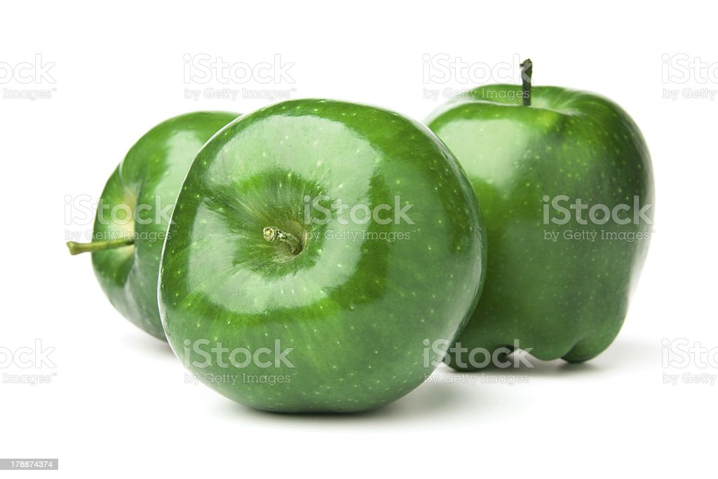 Red and green Apple royalty-free stock photo
