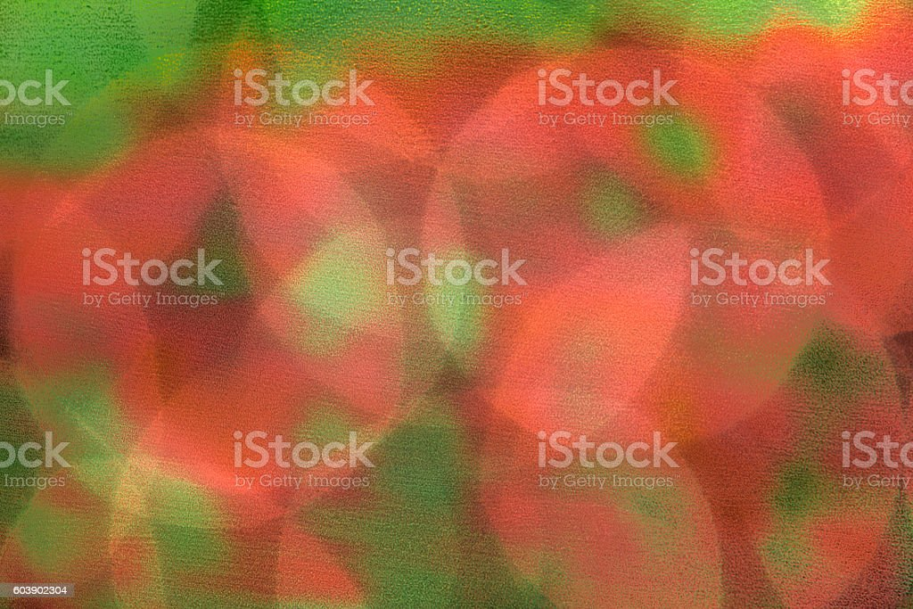 Red and Green Lights, Abstract Christmas Background stock photo