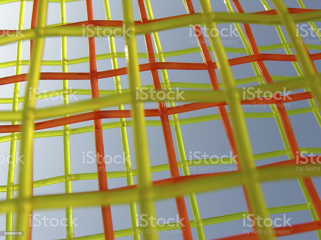 Red and Green Strings royalty-free stock photo