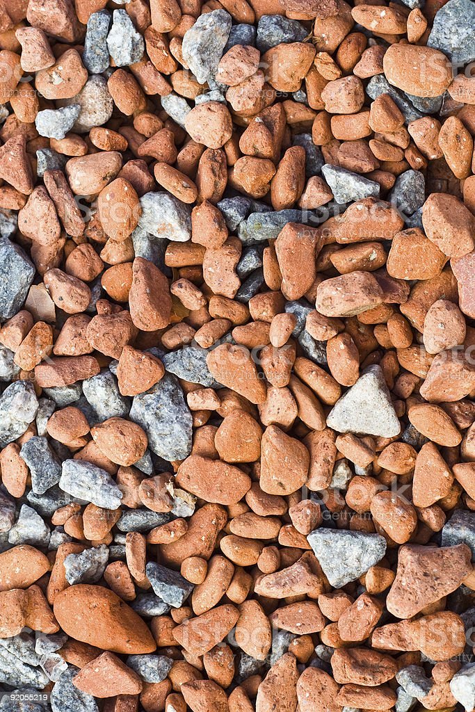 Red and Grey Stones Background stock photo