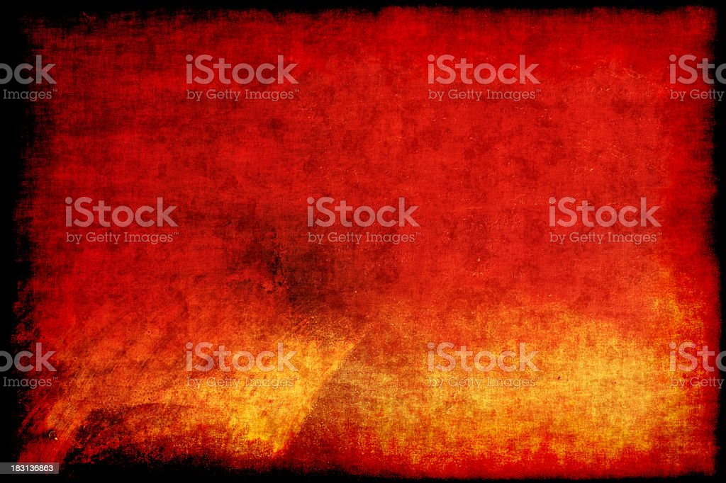 A red and orange grunge background stock photo