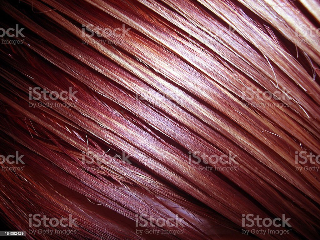 Red and Orange Hair stock photo