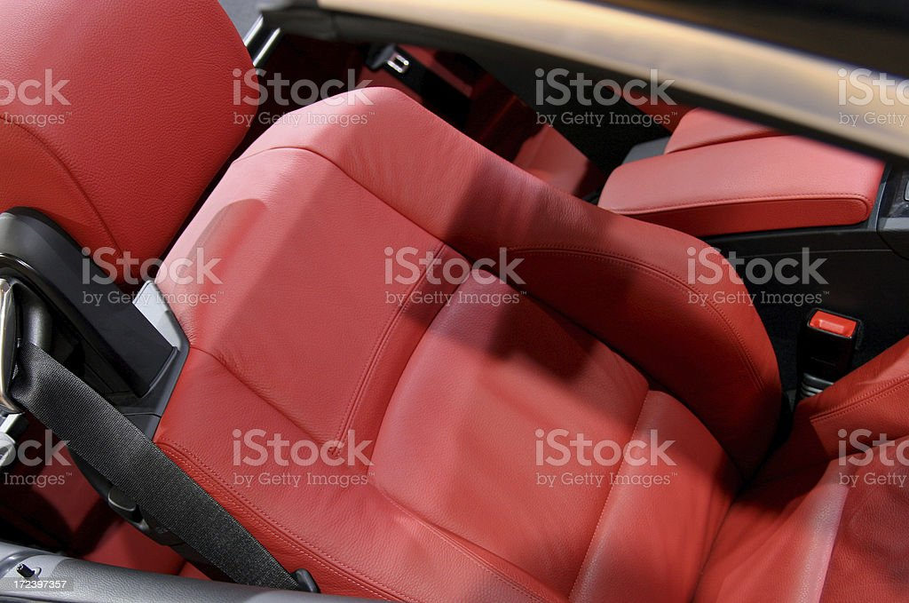 Red and sportive royalty-free stock photo