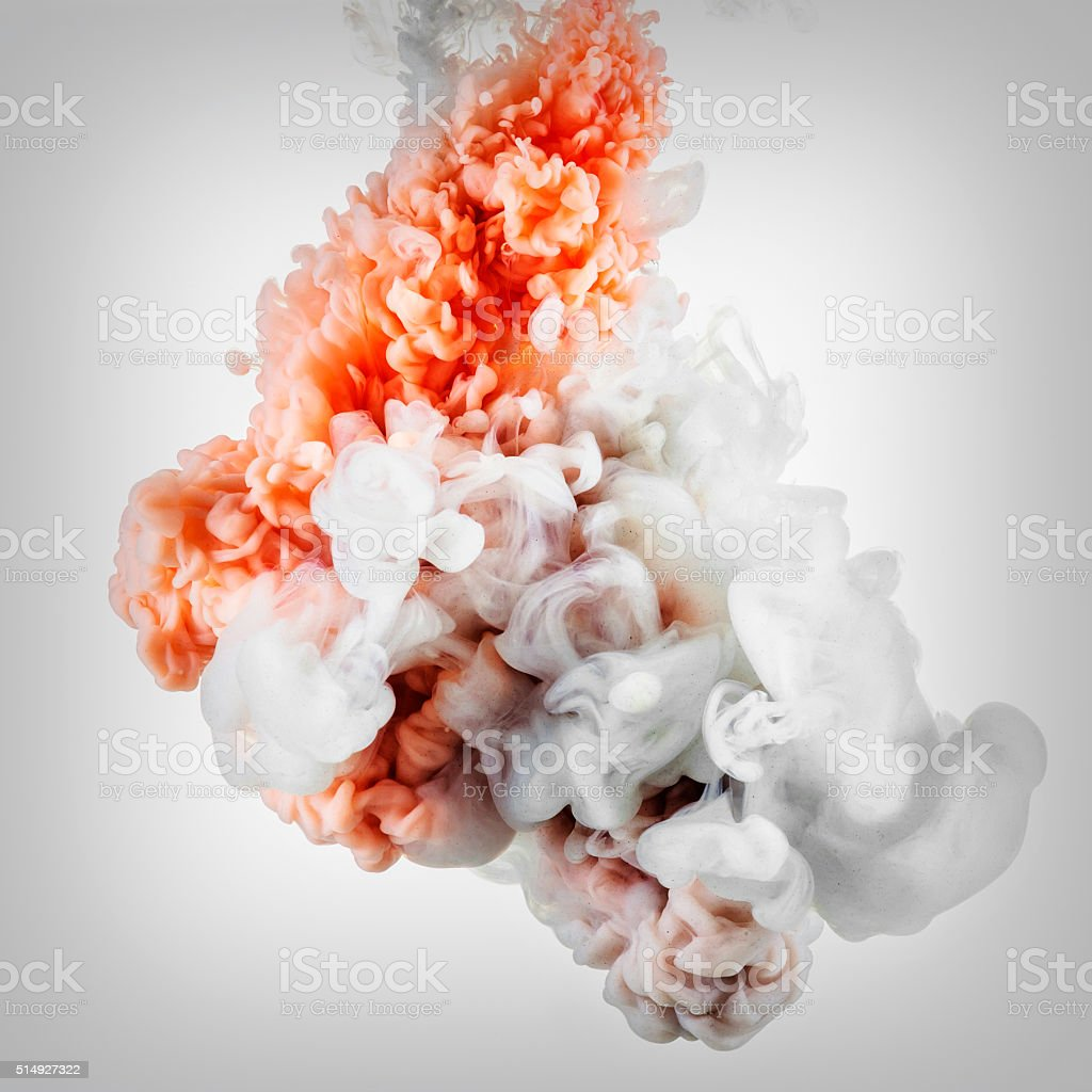 Red and white abstract background stock photo