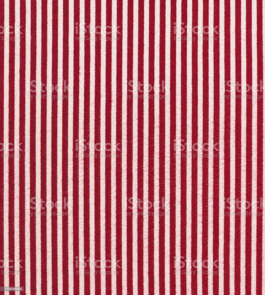 red and white cotton stripes royalty-free stock photo