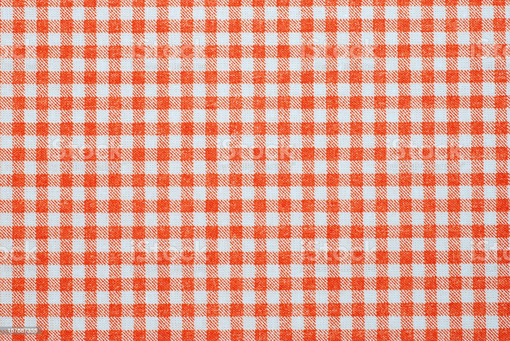 Red and white seamless plaid background template stock photo