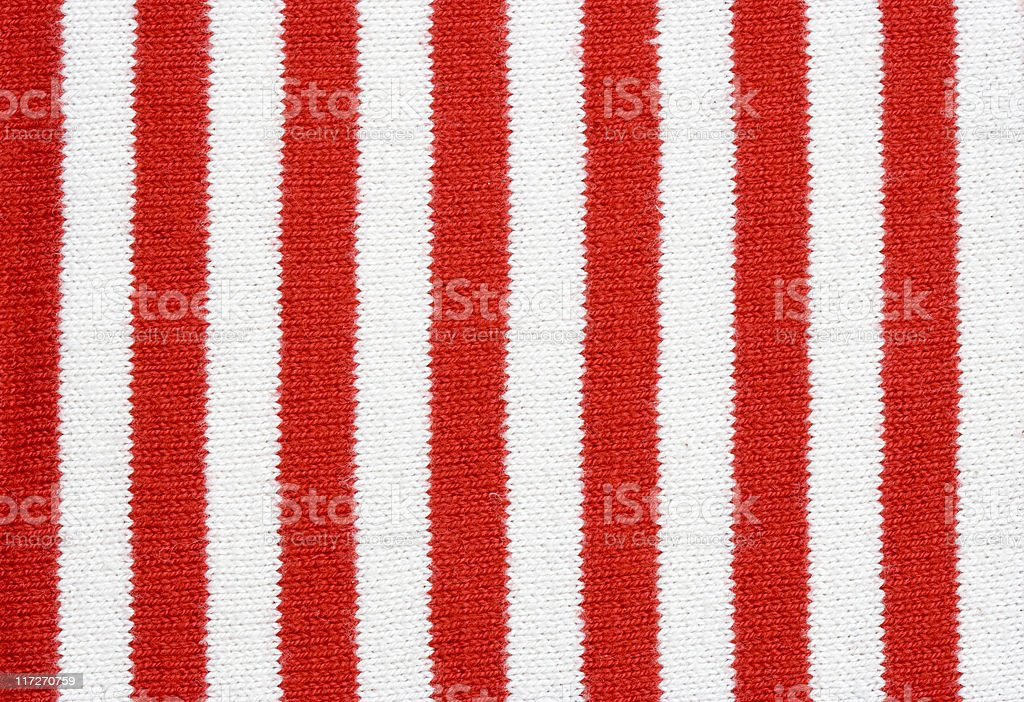 red and white striped fabric royalty-free stock photo