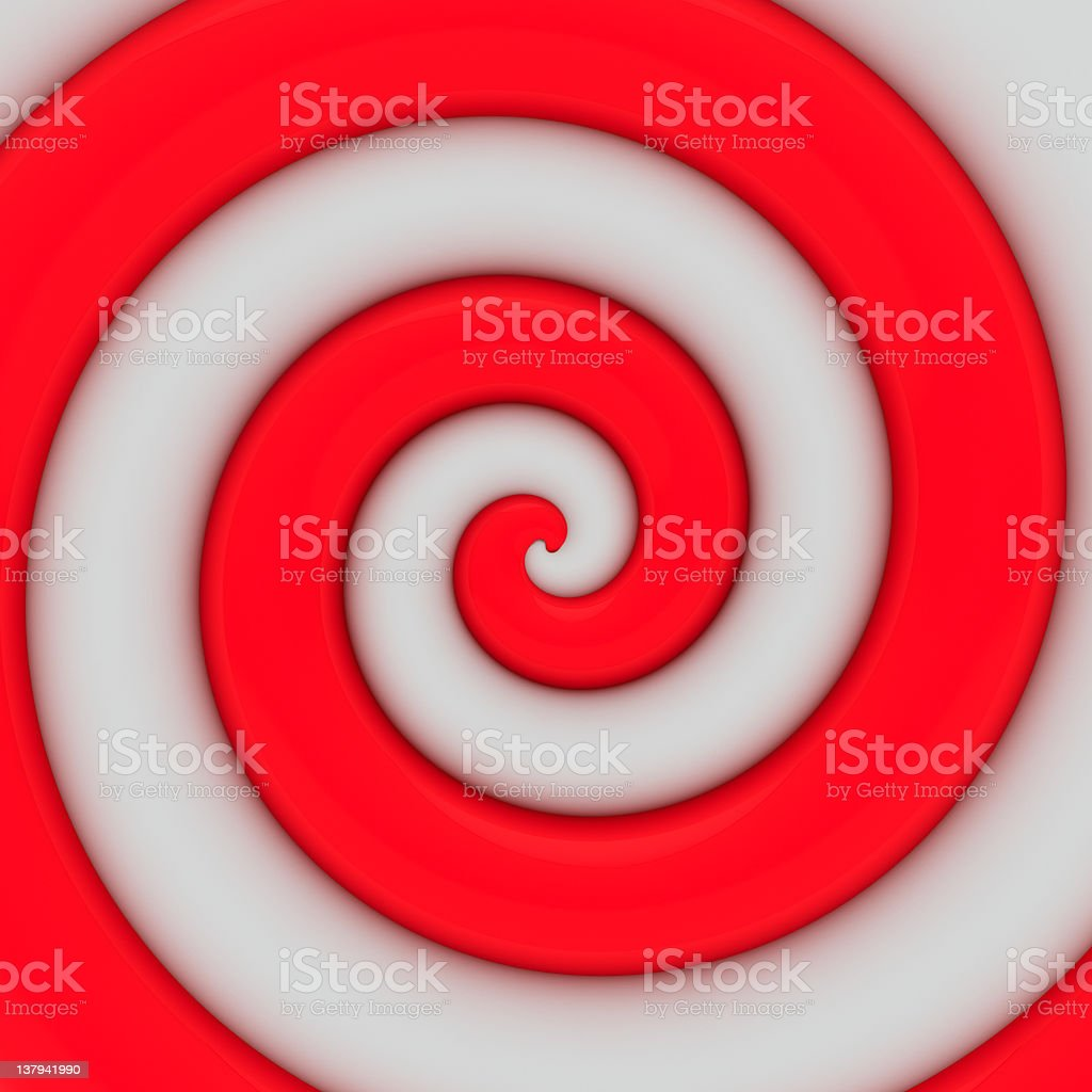 Red and white swirl royalty-free stock photo