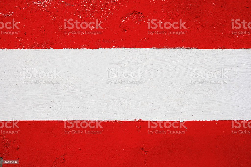 Red and white wall royalty-free stock photo