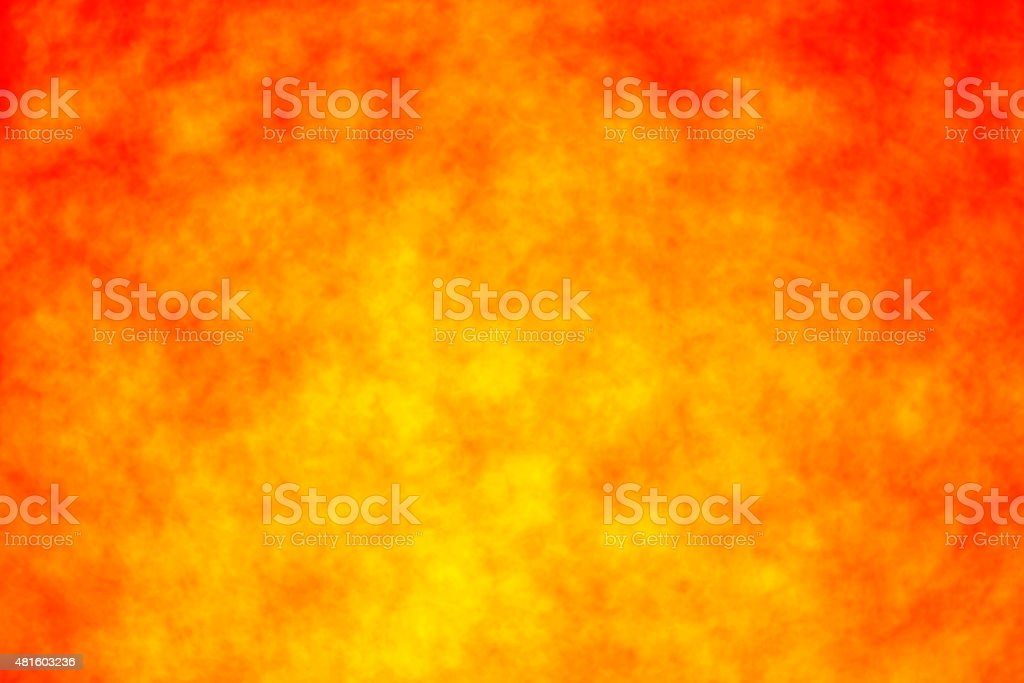 Red and Yellow Fire Blur Background stock photo