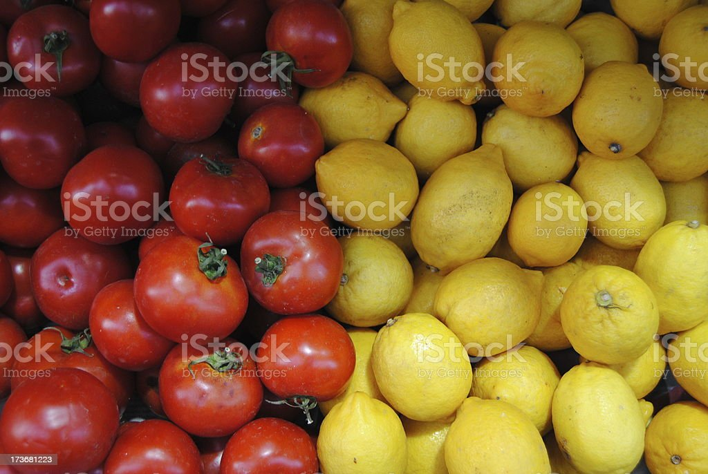 Red and Yellow stock photo