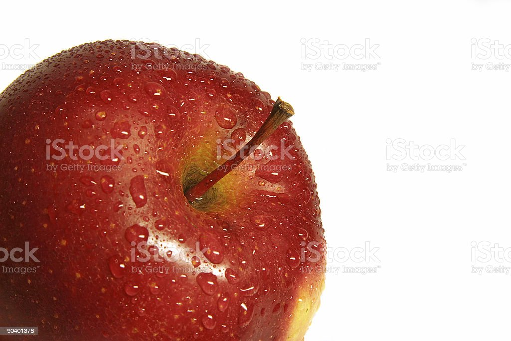 Red apple 2 royalty-free stock photo