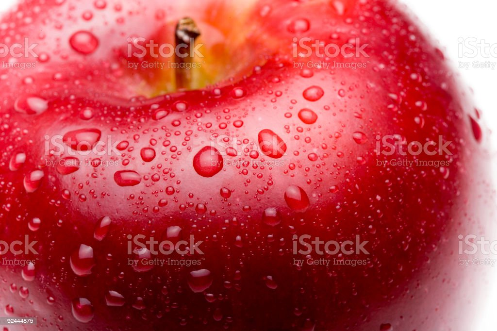 Red Apple / Details stock photo