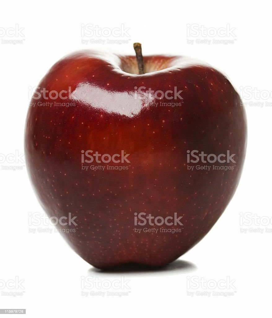 Red apple. royalty-free stock photo
