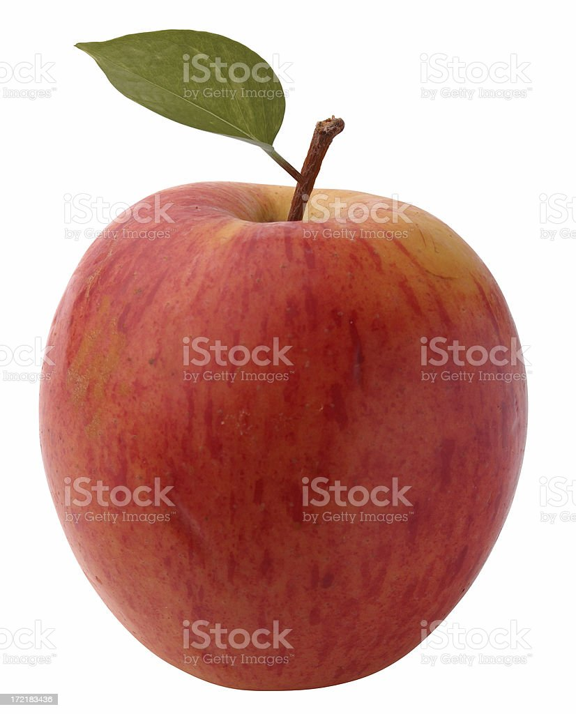 Red Apple royalty-free stock photo