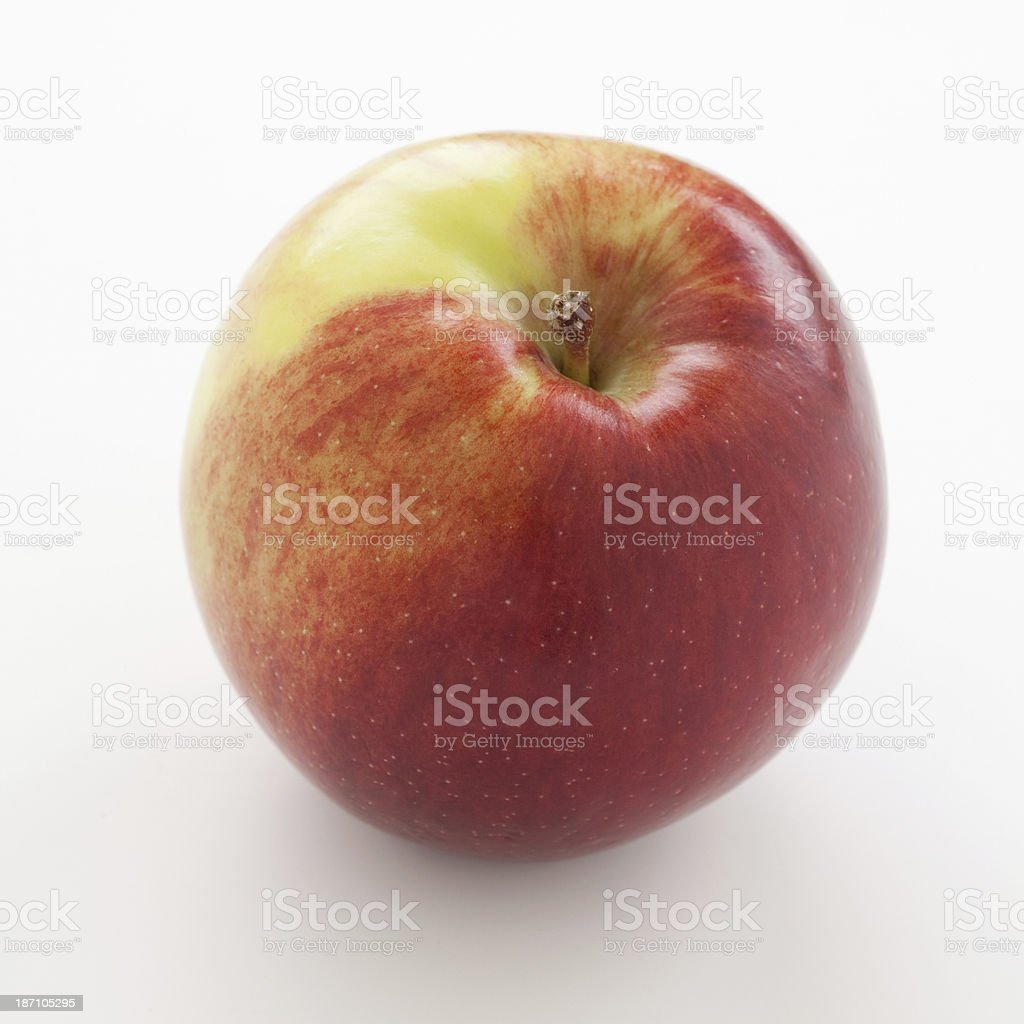 Red apple Spartan stock photo