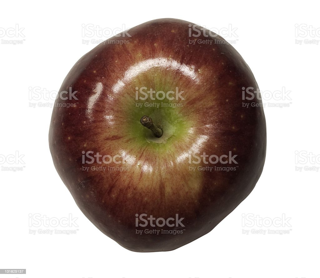 Red Apple Top royalty-free stock photo
