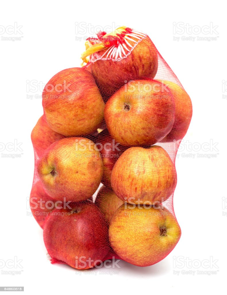 red apples grid stock photo