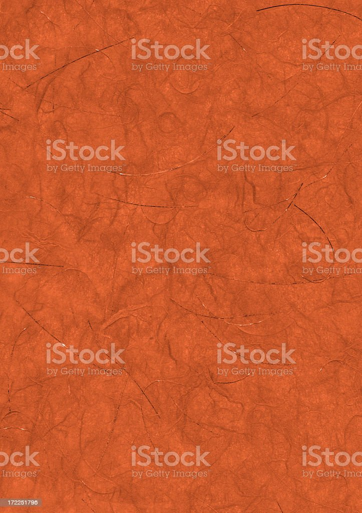 Red art paper with swirls royalty-free stock photo