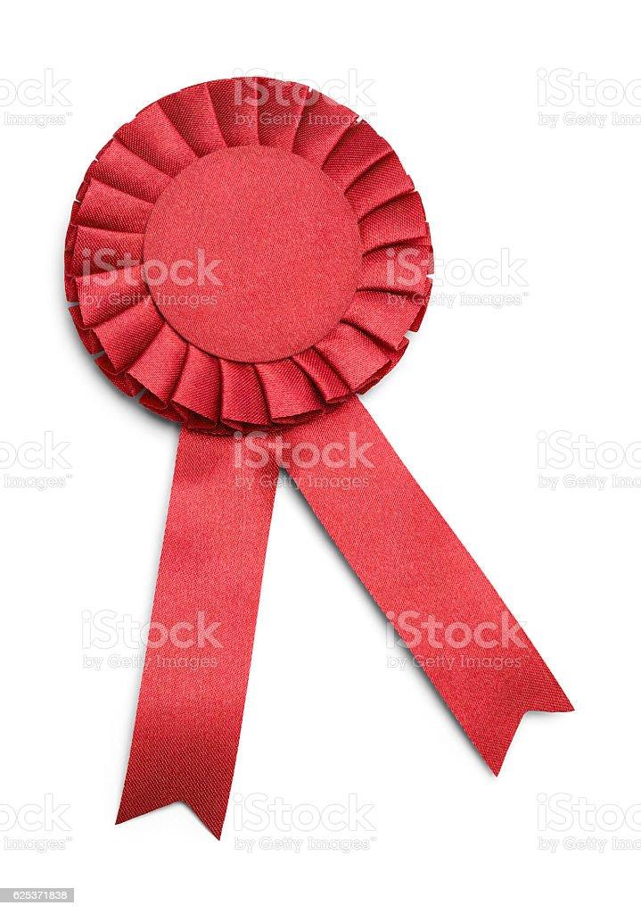 Red Award Ribbon stock photo
