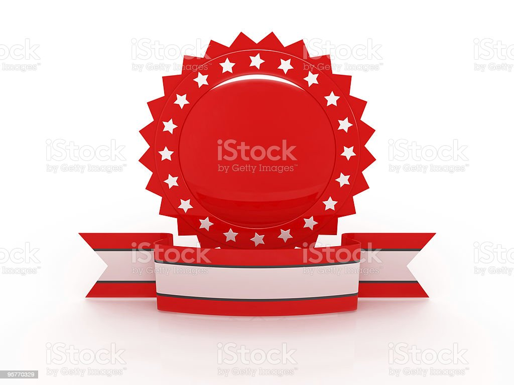 Red Award Series royalty-free stock photo