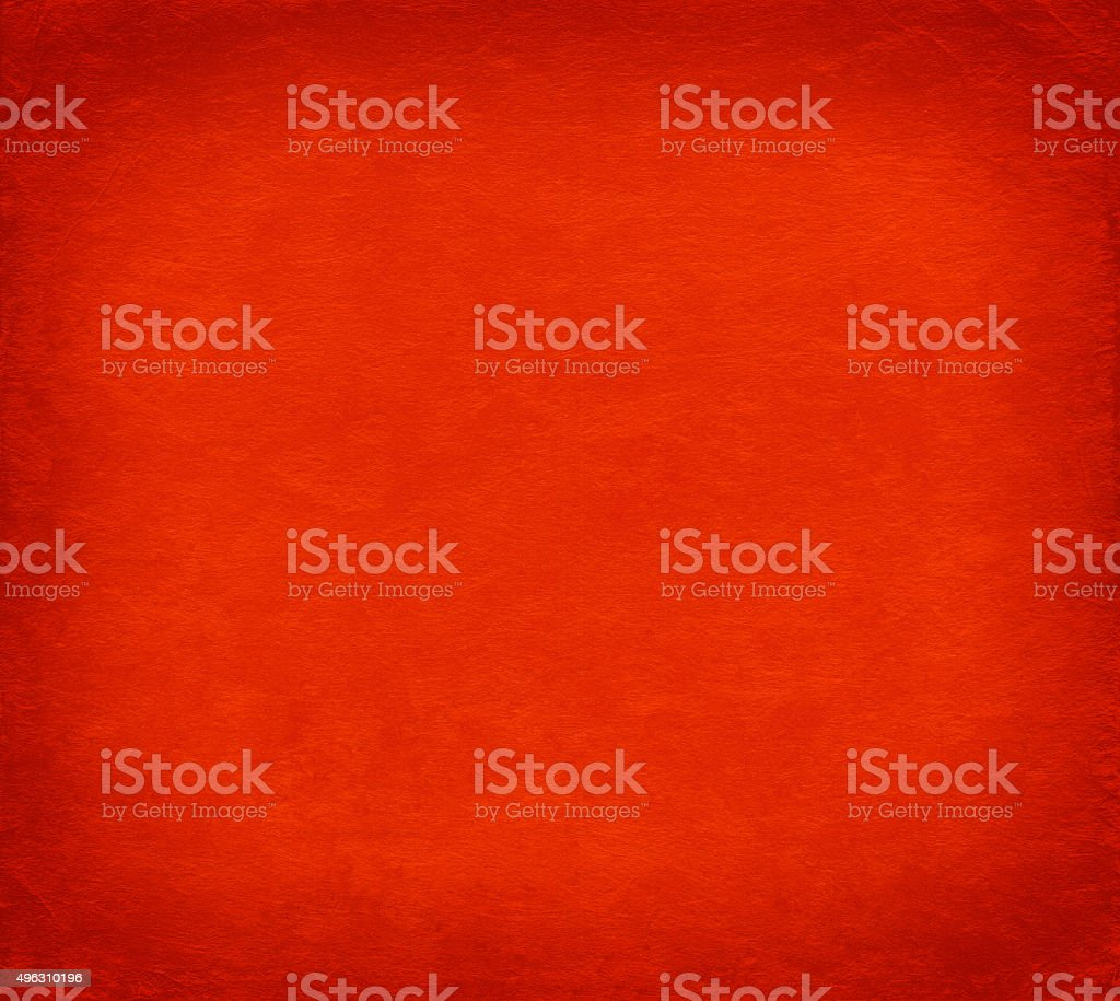 Red background from japanese handmade washi paper texture stock photo