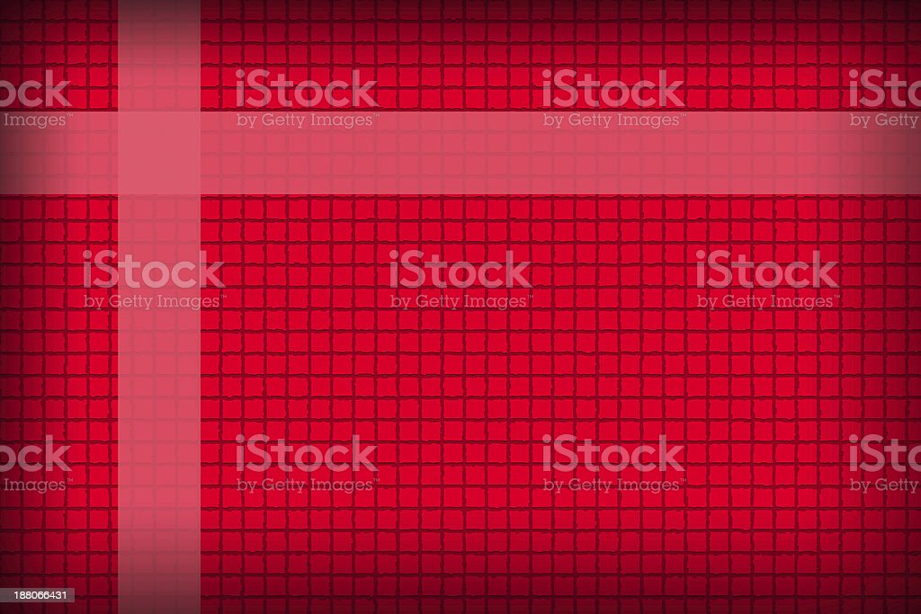 Red background in a box style concatenating. stock photo