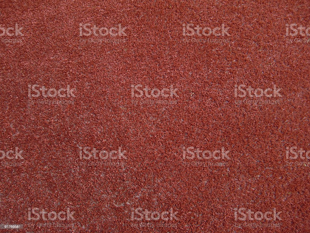 Red background - Running Track stock photo
