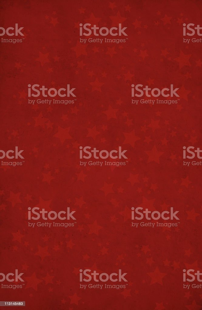 Red background with star shapes XXL stock photo