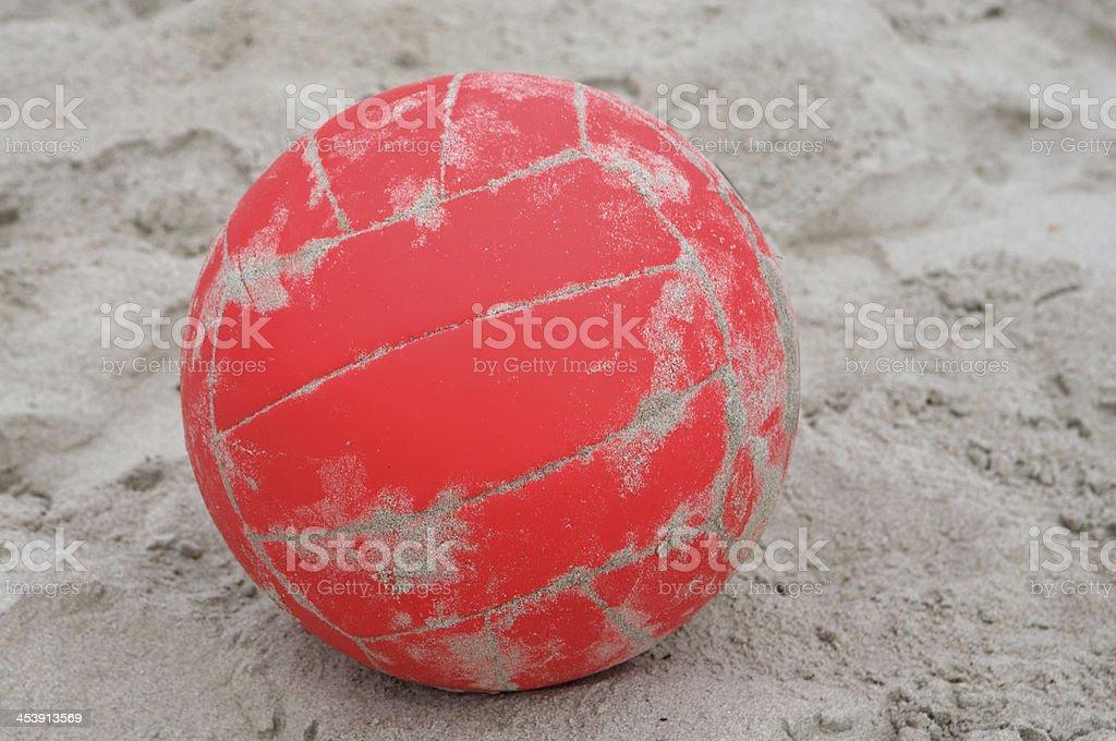 red ball boleibol royalty-free stock photo