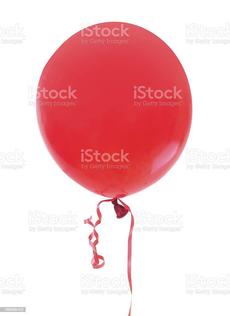 Red balloon royalty-free stock photo