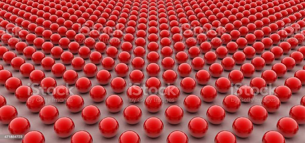 Red balls royalty-free stock photo