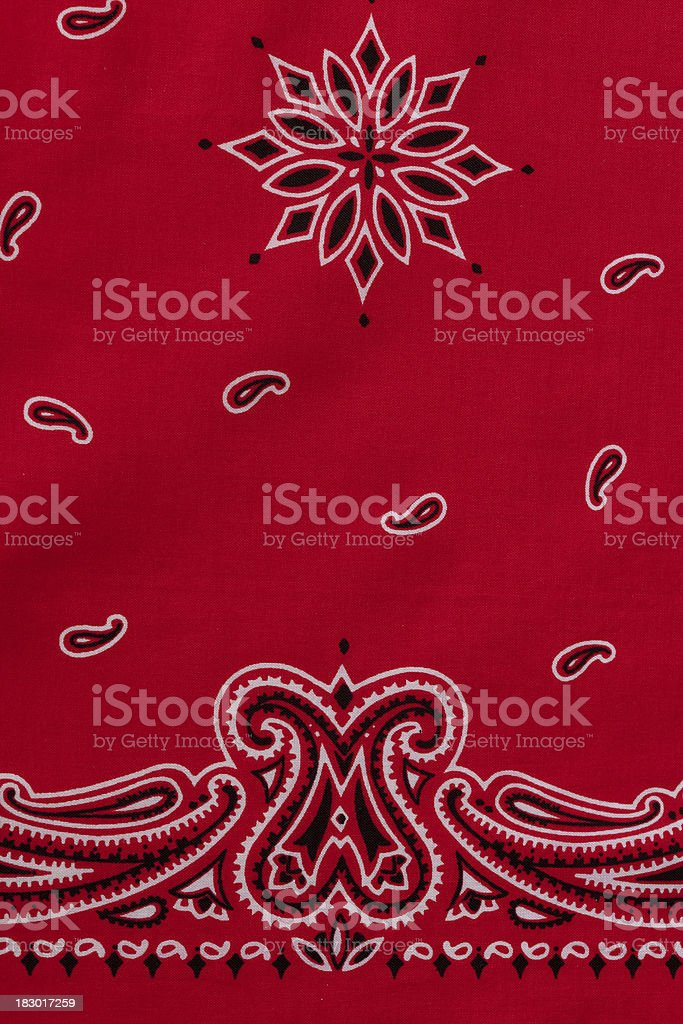 Red Bandana royalty-free stock photo