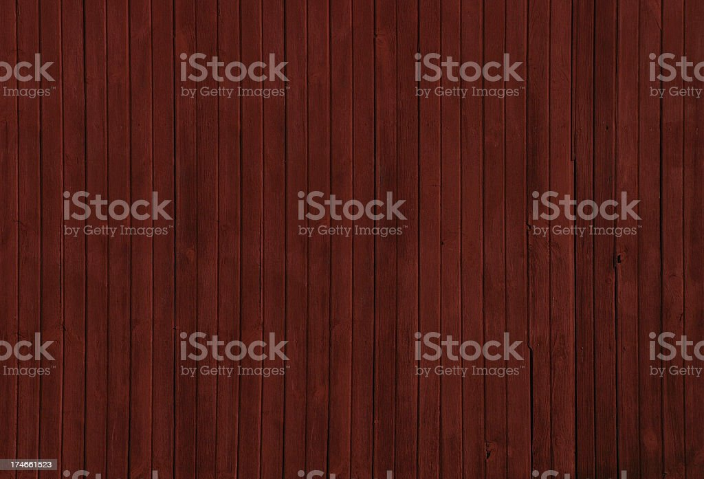 Red barn wooden siding royalty-free stock photo