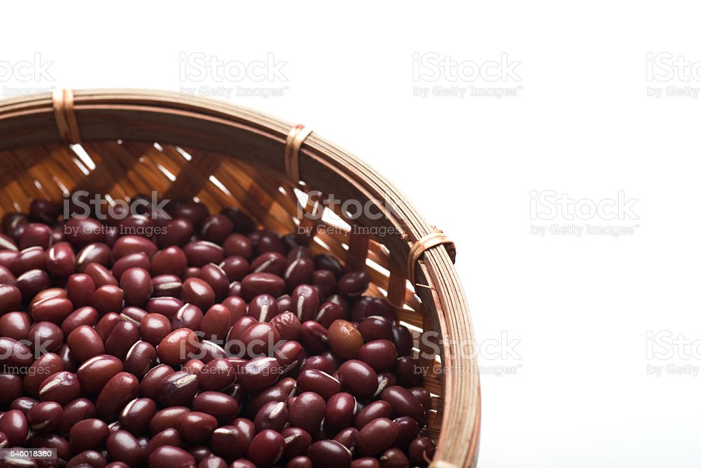 red bean for japanese traditional sweats stock photo