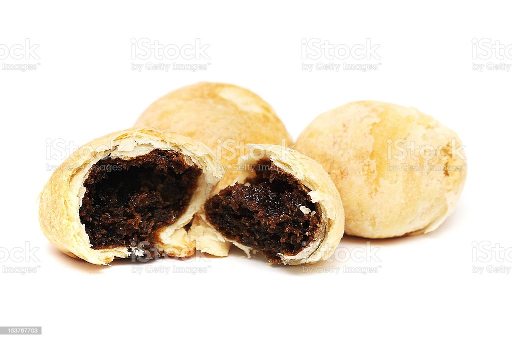 Red Bean Pastry stock photo