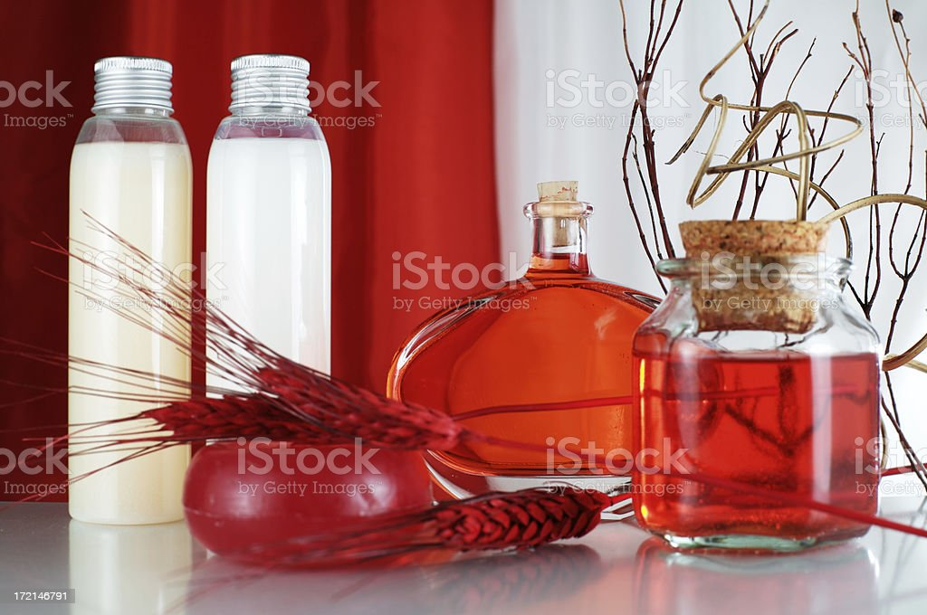 Red beauty (two) royalty-free stock photo