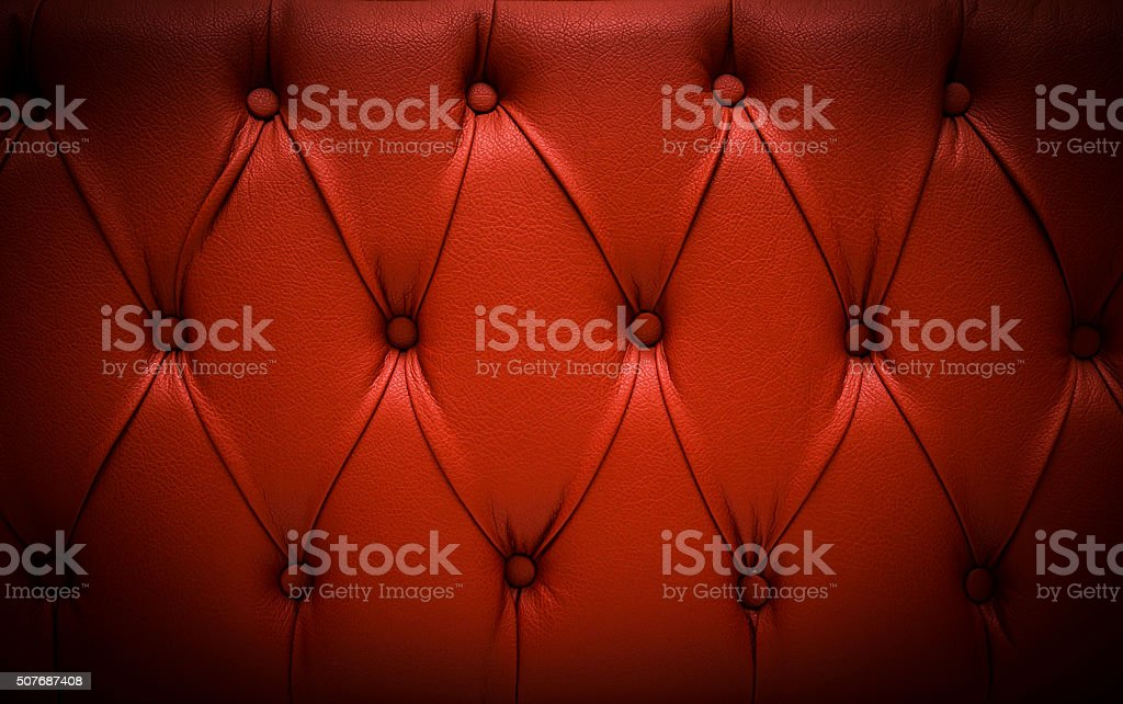 Red Bed head background stock photo