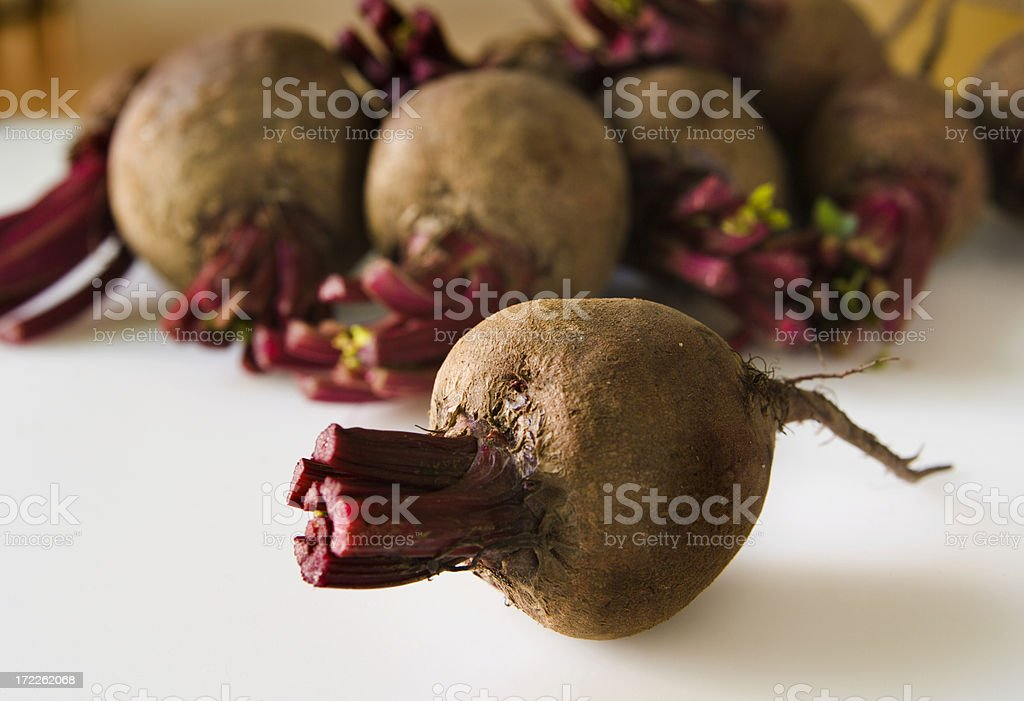 Red Beets Solo royalty-free stock photo