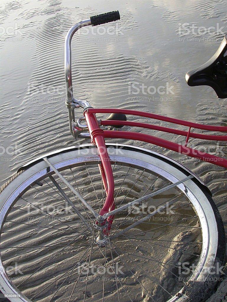 Red Bike stock photo