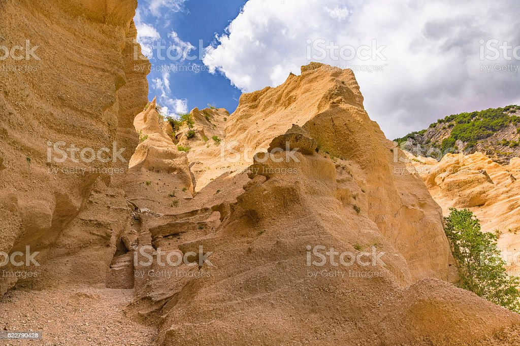 Red Blades Canyon stock photo