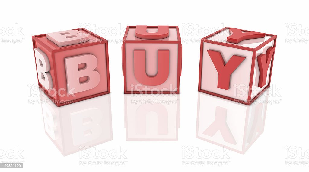 Red Block royalty-free stock photo