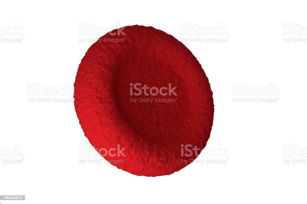 red blood cells stock photo